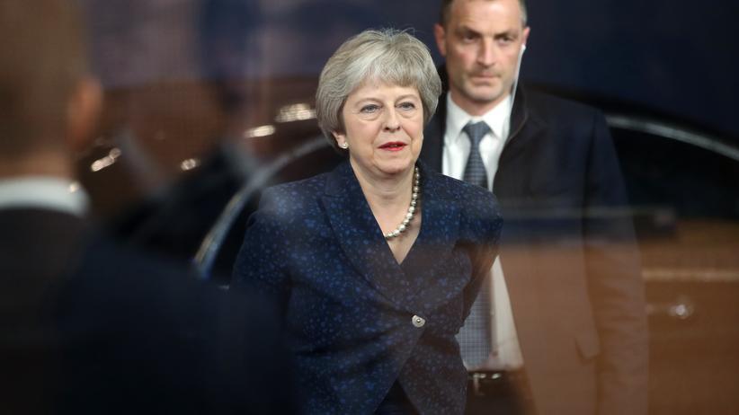 EU-Austritt: Die britische Premierministerin Theresa May will die EU um mehr Zeit beim Brexit bitten.