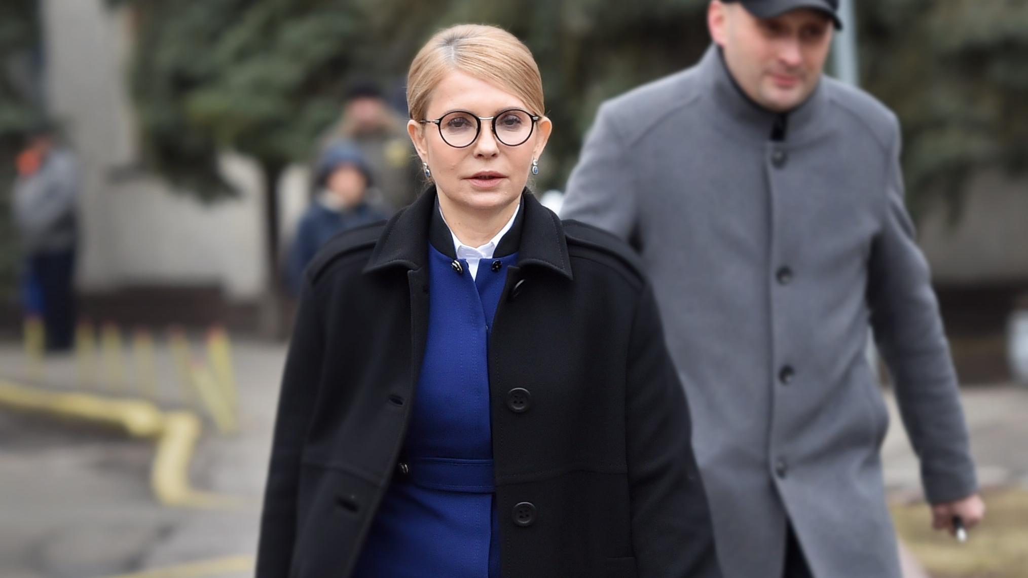 Julija Timoschenko ist zurück