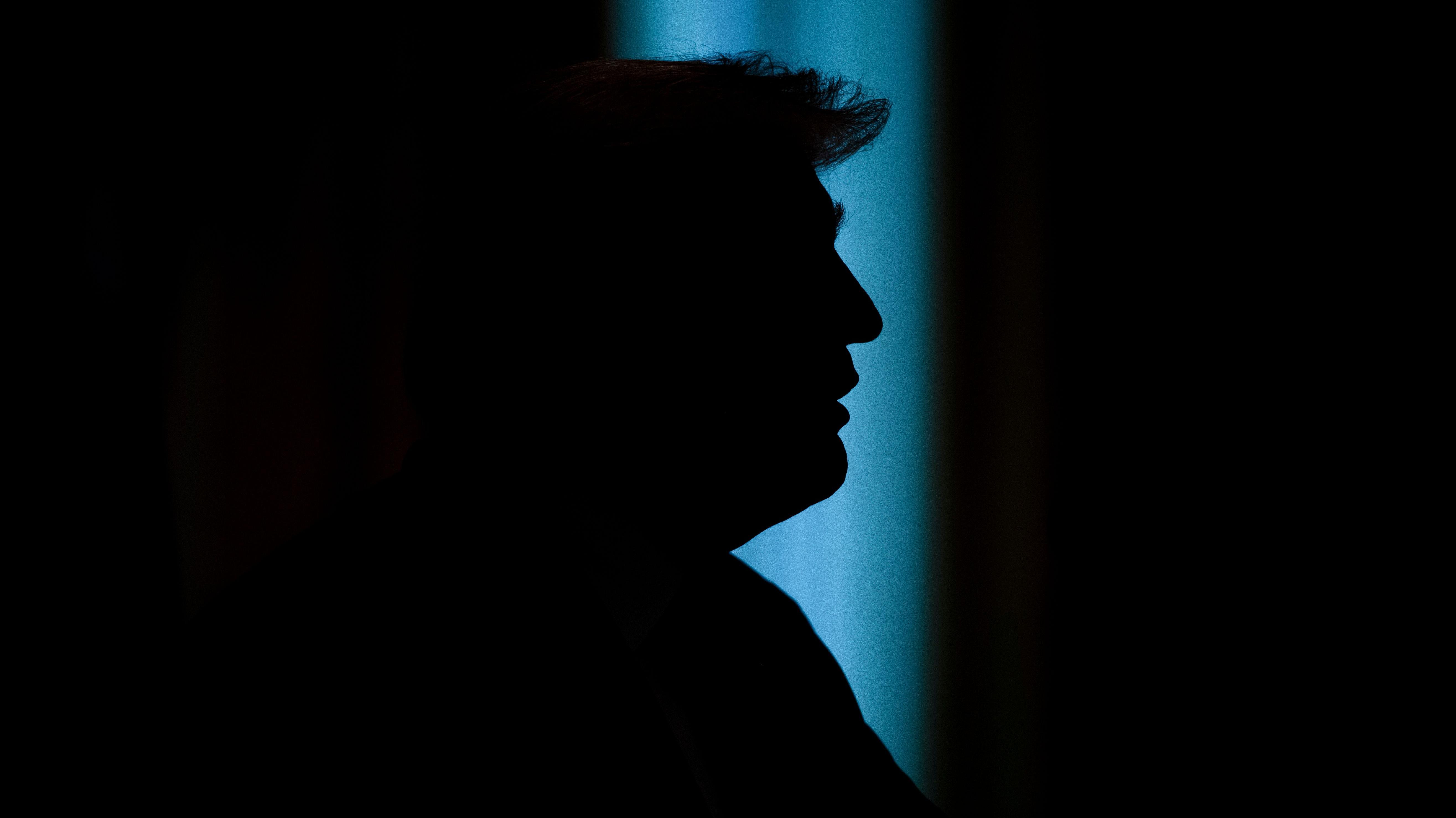 Donald Trump spendet Geld für das Heimatschutzministerium