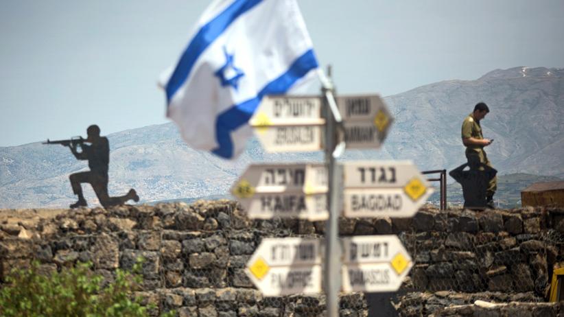 USA: Donald Trump will Souveränität Israels über Golanhöhen anerkennen