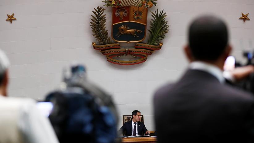 Venezuela: Juan Guaido wurde von vielen Ländern bereits als Übergangspräsident anerkannt.