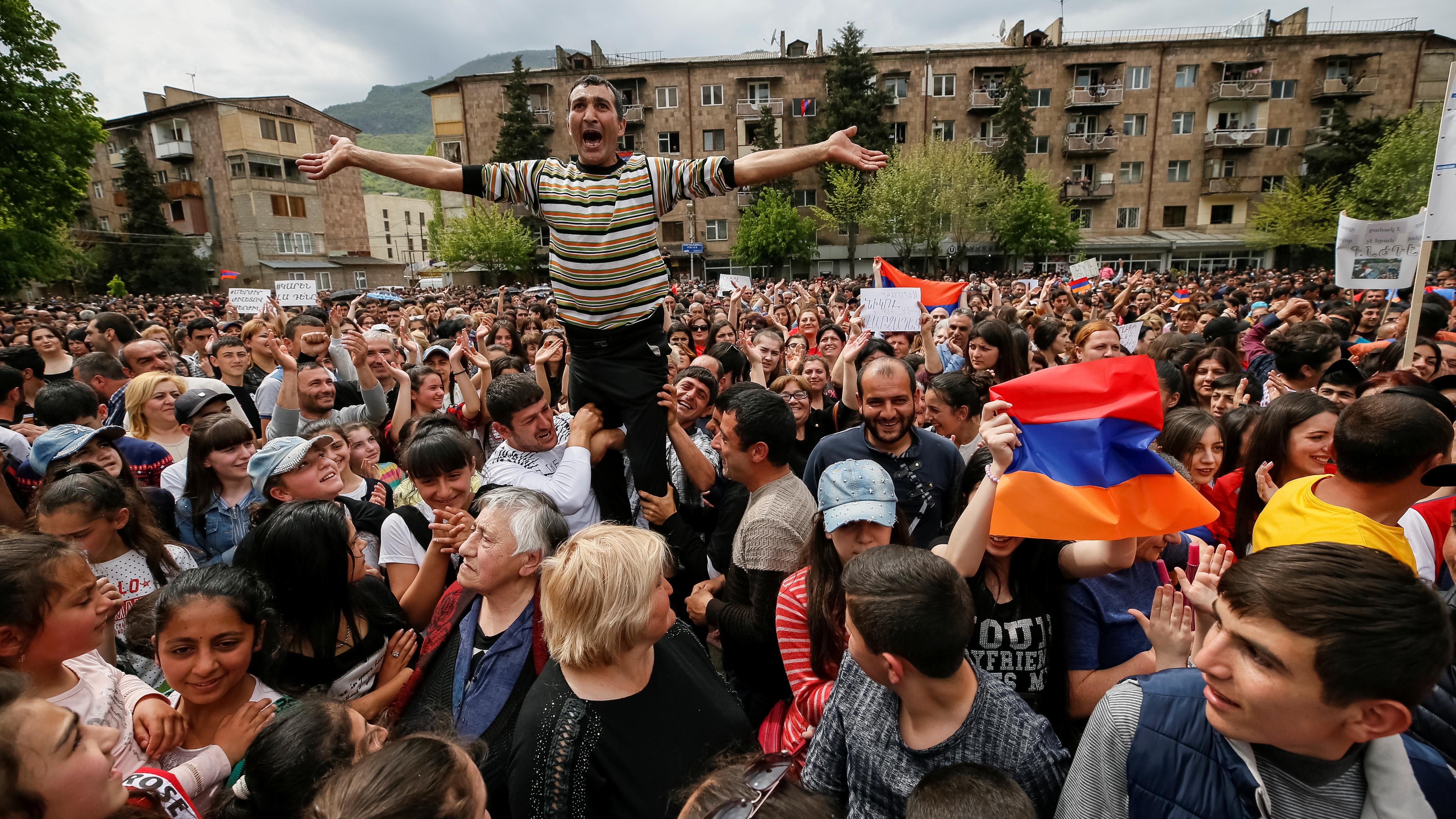 Was von der Revolution in Armenien übrig bleibt