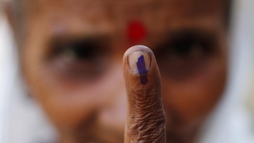 Parlamentswahl in Indien: 900 Millionen Wähler, sechs Wochen Zeit