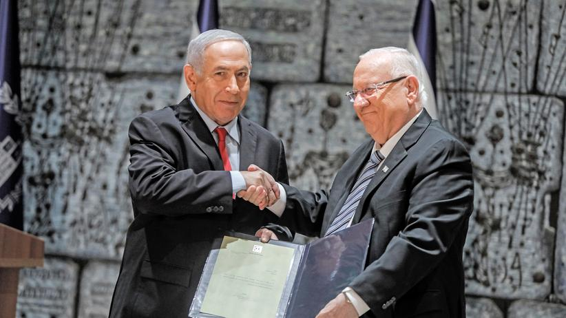 Israel: Ministerpräsident Benjamin Netanyahu (links) mit Präsident Reuven Rivlin.