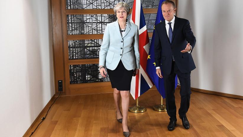 EU-Austritt: Donald Tusk schlägt Brexit-Aufschub von bis zu zwölf Monaten vor