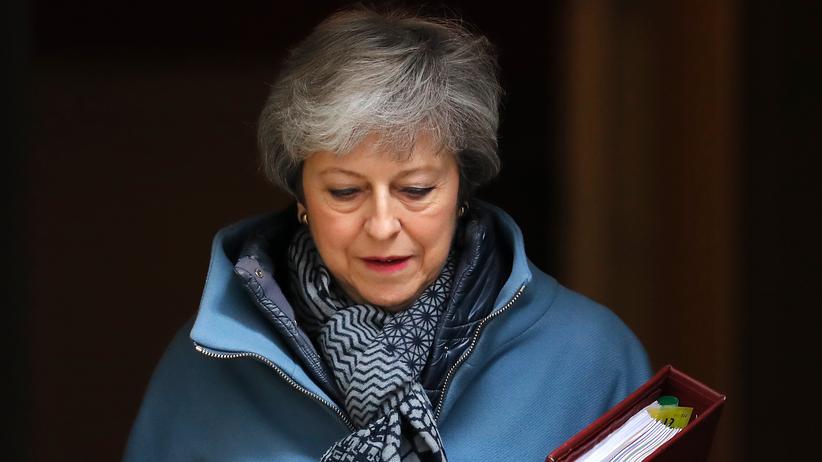 Brexit: Theresa May, britische Premierministerin