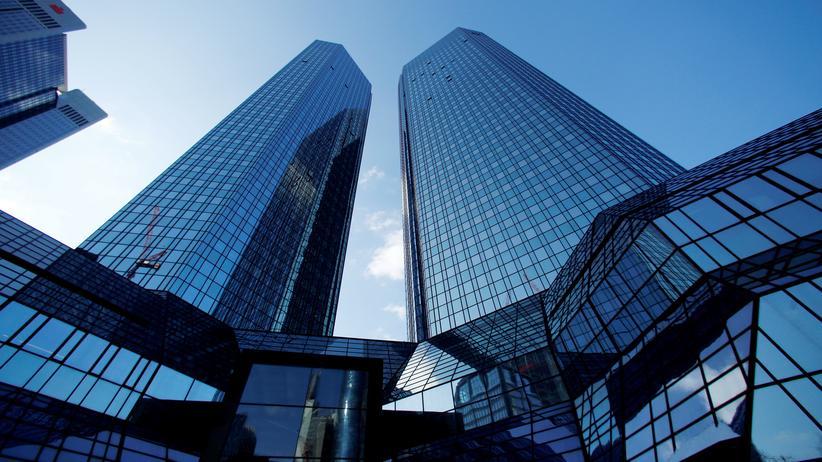 US-Ermittlungen: Der Hauptsitz der Deutschen Bank in Frankfurt am Main
