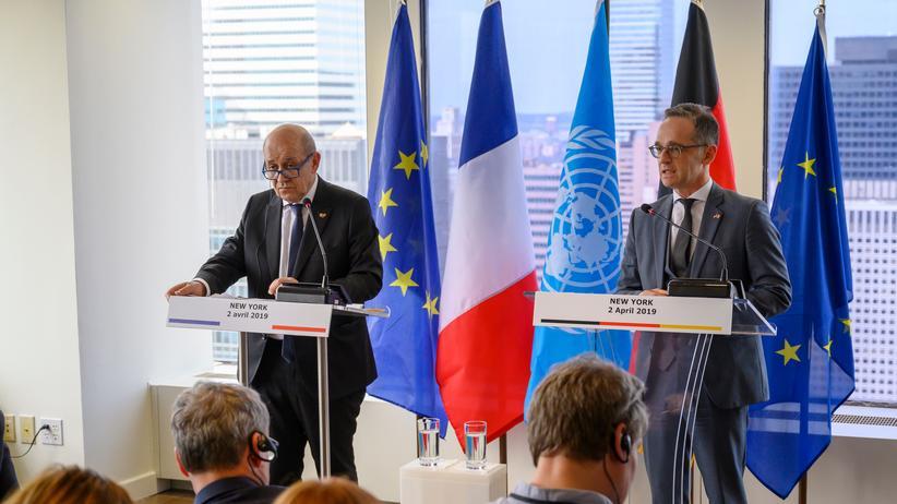 """Heiko Maas: Deutschland und Frankreich starten """"Allianz der Multilateralisten"""""""
