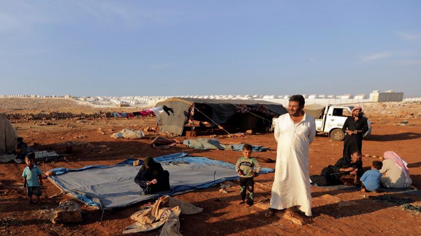 Flüchtlingspolitik: Ein Lager für Binnenvertriebene in der syrischen Provinz Idlib