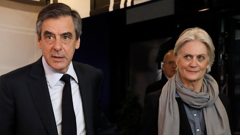Frankreich: Das Ehepaar Fillon im März 2017