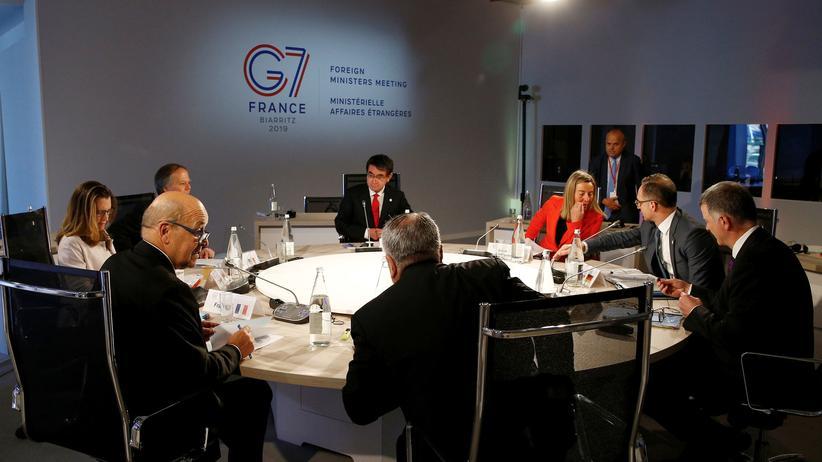 Libyen: G7-Außenminister fordern Stopp des Rebellenvormarsches