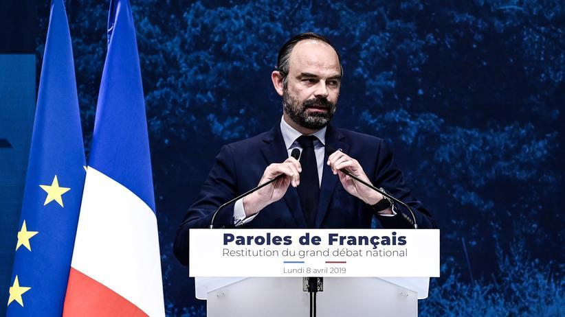 Gelbwesten-Proteste: Französischer Premier verspricht Steuersenkungen