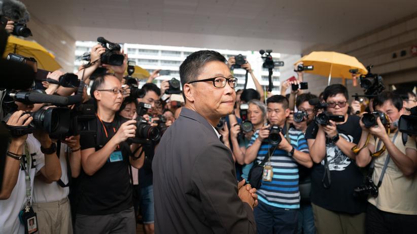 Hongkong: Dr. Chan Kin-Man, Mitgründer der pro-demokratischen Bewegung Occupy Central (Archivbild)