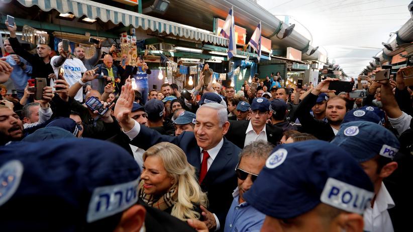 Israel: Benjamin Netanjahu hofft auf eine fünfte Amtszeit