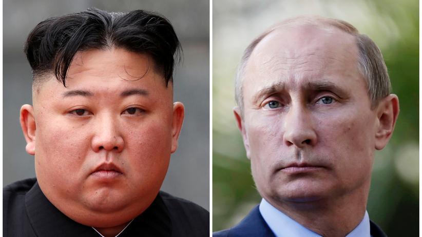 Nordkorea und Russland: Kim Jong Un wird sich laut russischen Informationen am Donnerstag mit Kreml-Chef Wladimir Putin treffen.