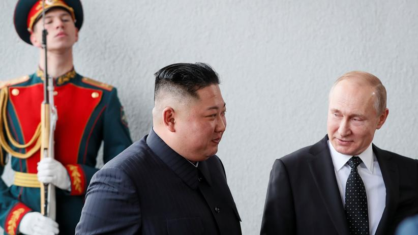 Wladimir Putin: Russlands Präsident fordert Sicherheitsgarantien für Nordkorea
