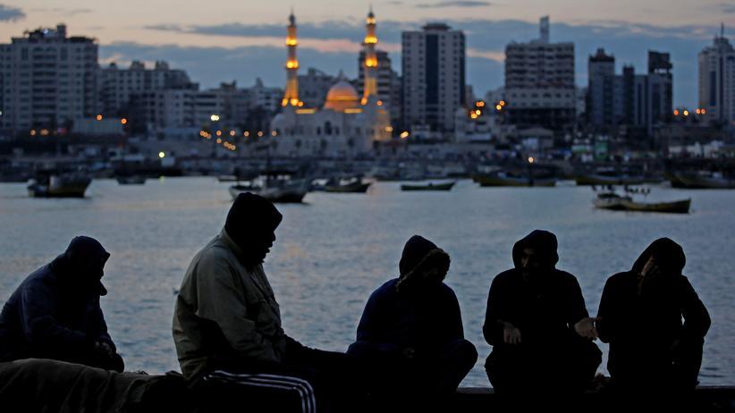 Nahostkonflikt: Am Hafen von Gaza-Stadt