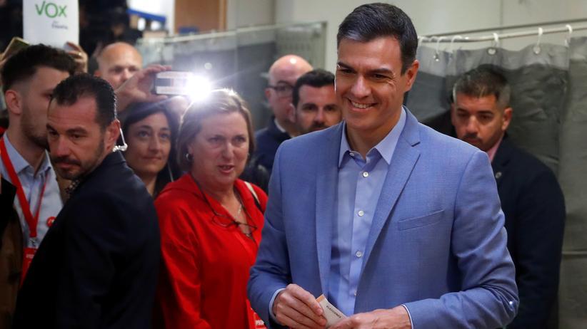 Spanien: Sánchez ohne absolute Mehrheit