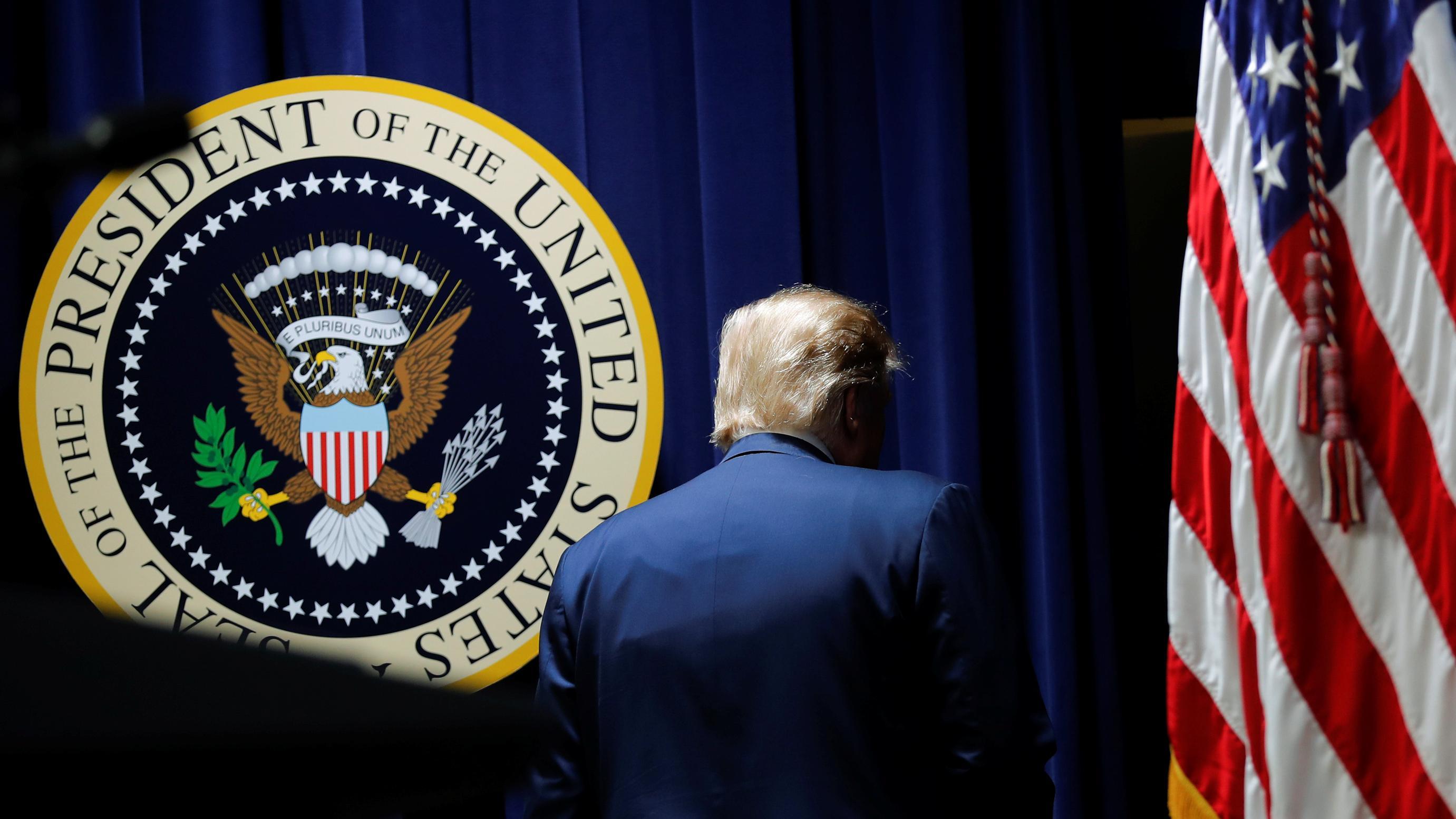 Trump wollte laut Mueller-Bericht Ermittlungen beeinflussen