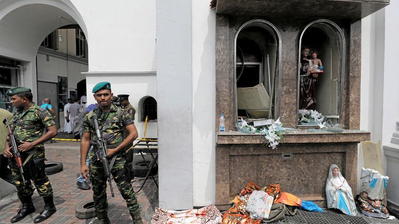 Anschläge: Sri Lankas Regierung will Sicherheitsapparat umbauen