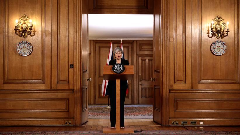 Theresa May: Abhängig von der Opposition