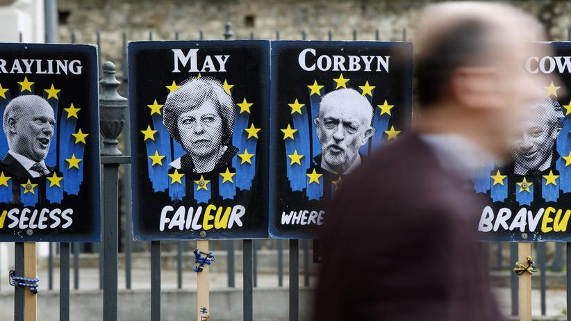 """Theresa May: """"In naher Zukunft"""" keine Parlamentsmehrheit für Brexit-Deal"""