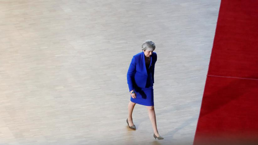 Brexit: Theresa May in Brüssel