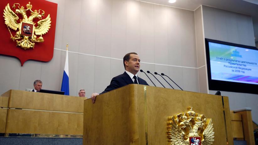 Reaktionen auf Ukraine-Wahl: Der russische Ministerpräsident Dmitri Medwedew