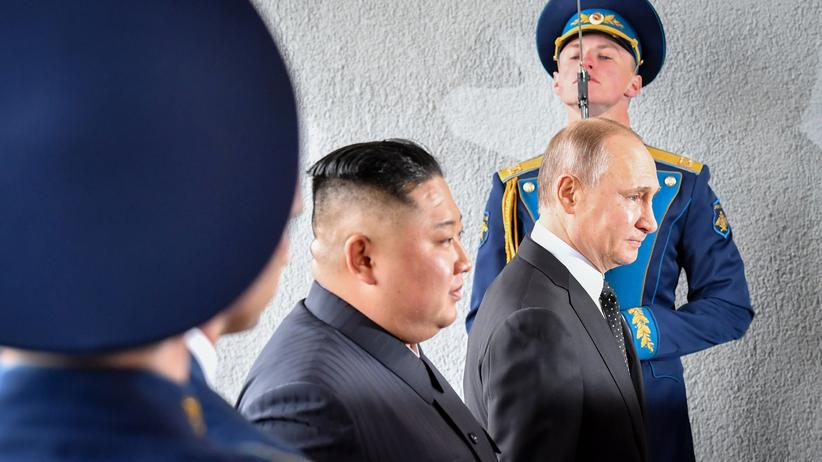 Atomprogramm: Wladimir Putin will im Streit zwischen Nordkorea und USA vermitteln
