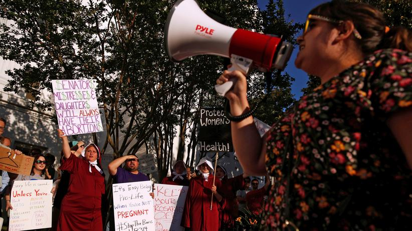 Schwangerschaftsabbruch: Demonstrantinnen in Alabama