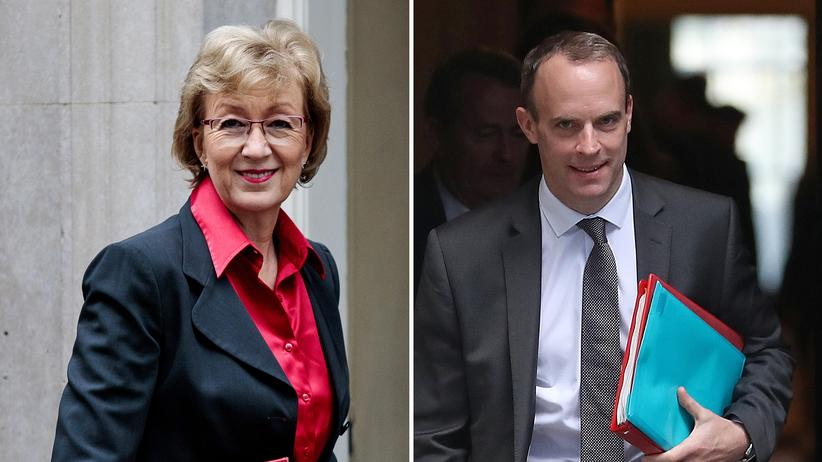 Großbritannien: Andrea Leadsom und Dominic Raab bewerben sich auf May-Nachfolge