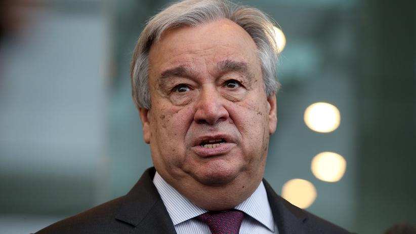 UN-Generalsekretär: António Guterres fordert CO2-Steuer