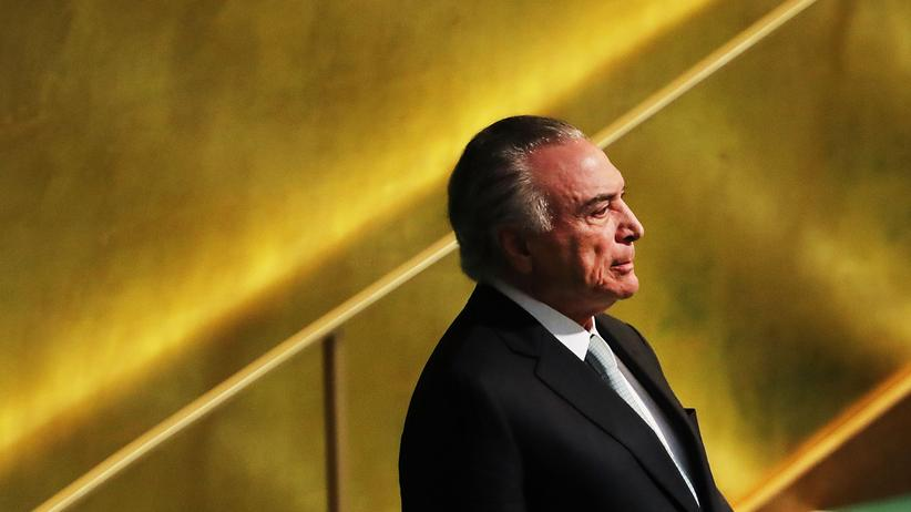 Brasilien : Brasiliens Ex-Präsident Temer muss wieder ins Gefängnis