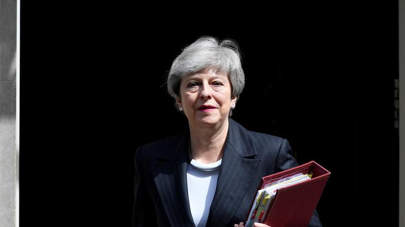 Britisches Parlament: Theresa May verteidigt Brexit-Pläne