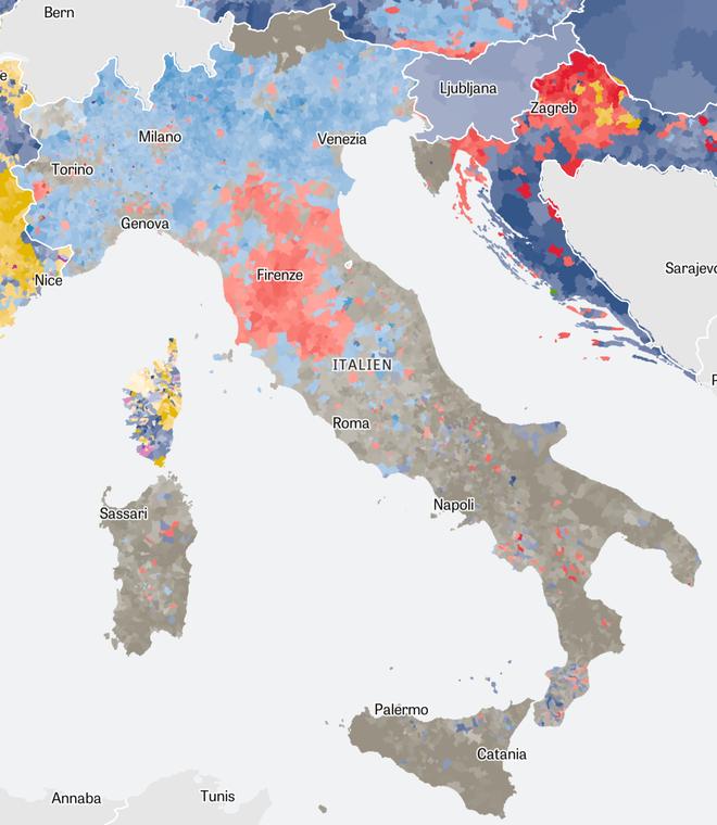 Alle Eu Länder Karte.Wahlen In Der Eu Europa Von Links Nach Rechts Zeit Online