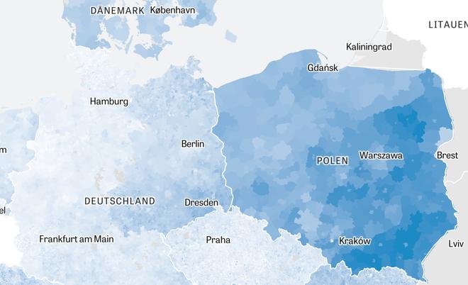 Polen Karte 2019.Wahlen In Der Eu Europa Von Links Nach Rechts Zeit Online