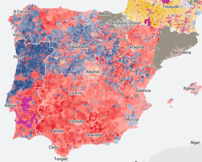 Got Karte Deutsch.Elections In The Eu Europe From Left To Right Zeit Online