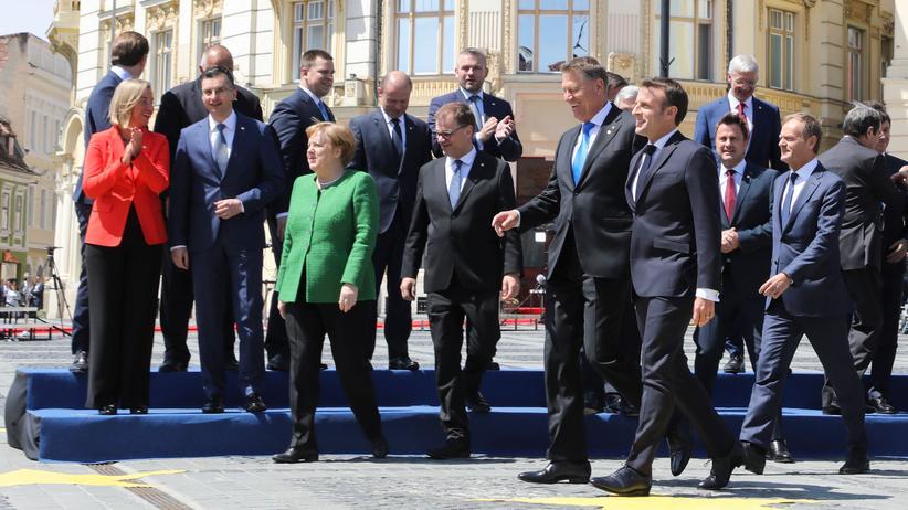 Europäische Union: EU-Staaten beschwören Geschlossenheit