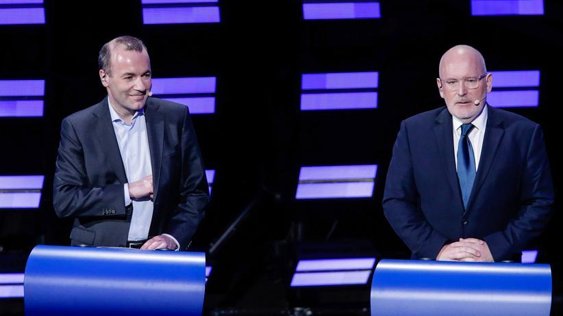 Europawahl: Spitzenkandidaten streiten über Klimapolitik