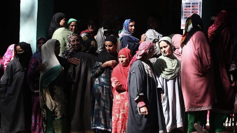 Indien: Damenwahl