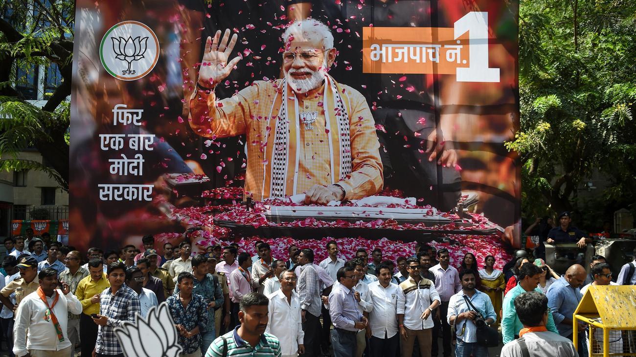 Indien: Regierungspartei gewinnt absolute Mehrheit bei Parlamentswahl