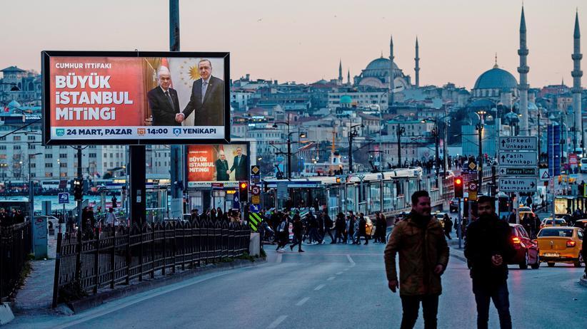 Recep Tayyip Erdoğan: Istanbul ist sein Schicksal