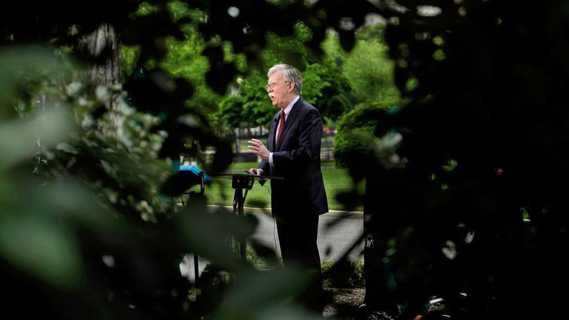 John Bolton: John Bolton ist schon der dritte Nationale Sicherheitsberater von US-Präsident Trump.