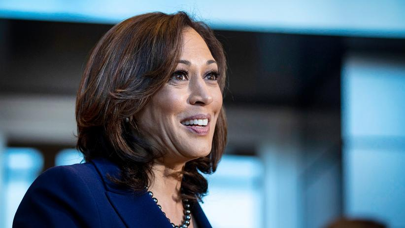 Kamala Harris: Kamala Harris, noch Senatorin in Kalifornien, strebt nach mehr.