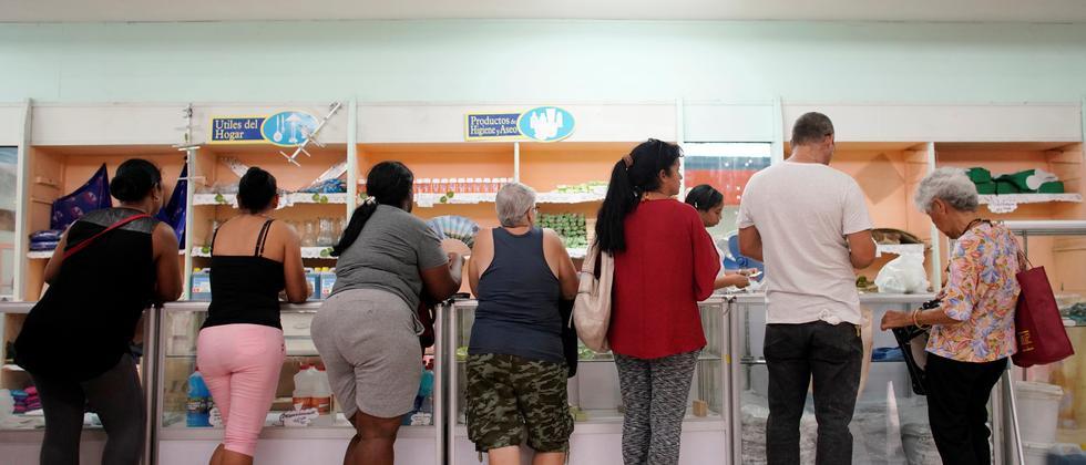 Versorgungskrise: Kuba rationiert Lebensmittel und Hygieneartikel
