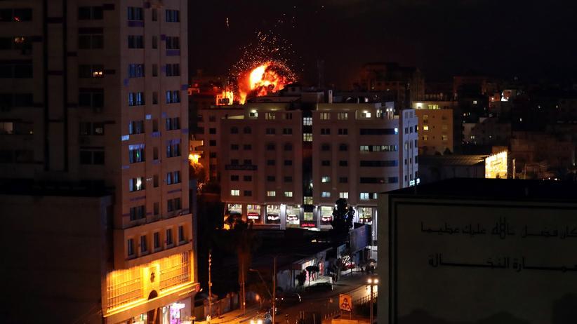 Nahostkonflikt: Sieben Tote nach Luftangriffen in Gaza und Israel