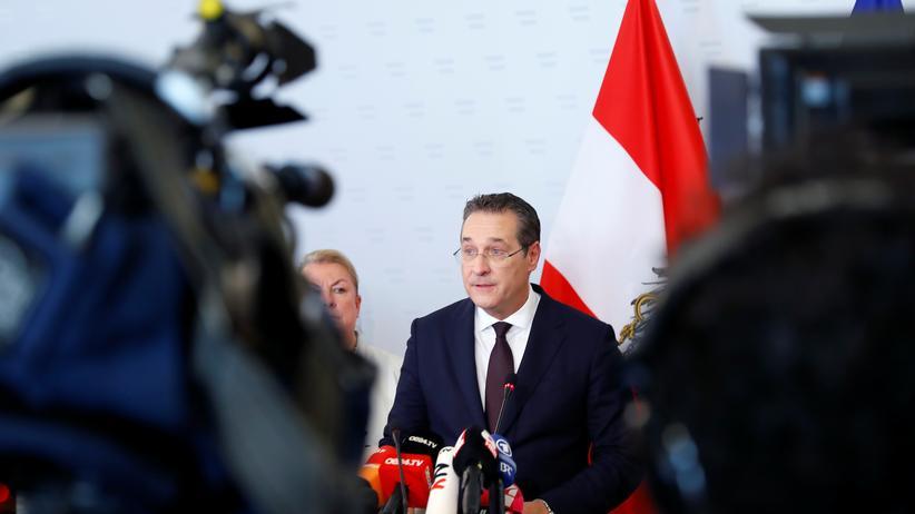 Österreich: Heinz-Christian Strache tritt als Vizekanzler zurück