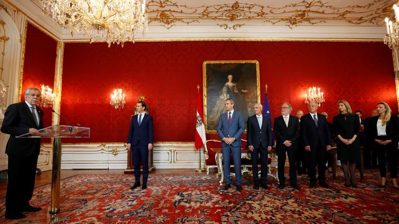 Nach Koalitionsbruch: Vier neue Ministerinnen und Minister in Österreich angetreten