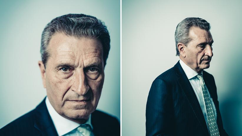 "Günther Oettinger: ""Achtung, Papa, da kommt was!"""