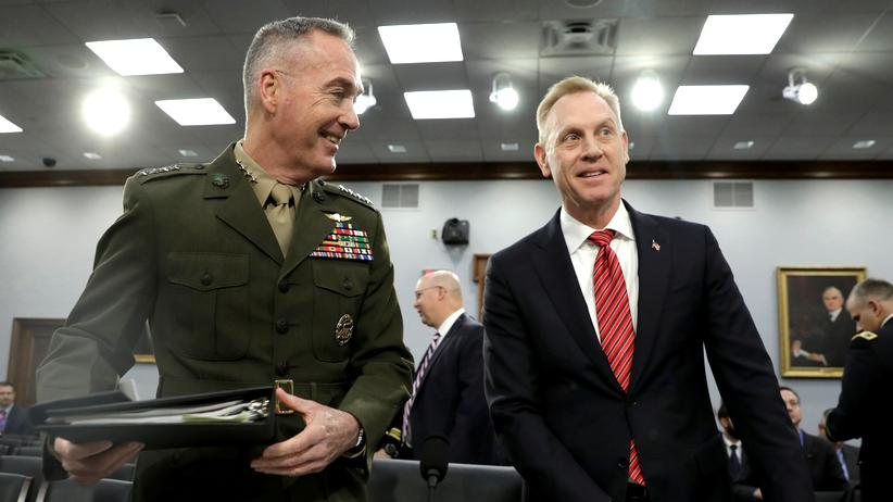 Pentagon: Patrick Shanahan soll dauerhaft US-Verteidigungsminister werden